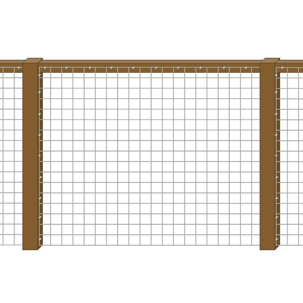 Framed 1 Side - Top Rail
