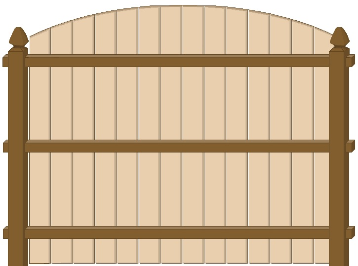 Arched Solid Board